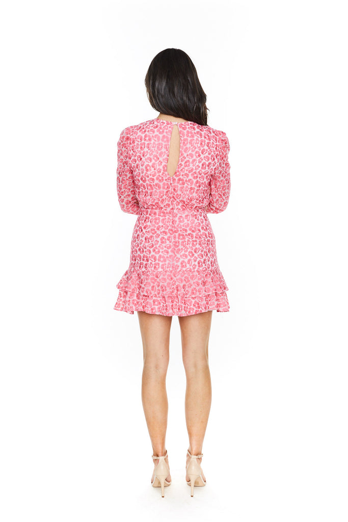 Talulah The Blossom Long Sleeve Mini Dress