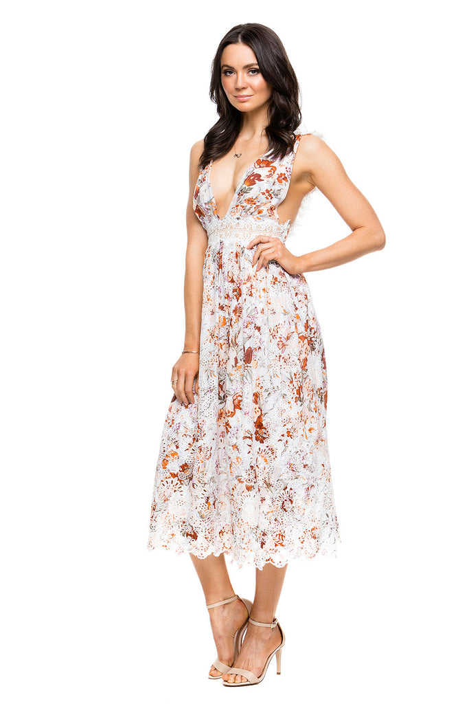 Zimmermann - Alchemy Flutter Dress