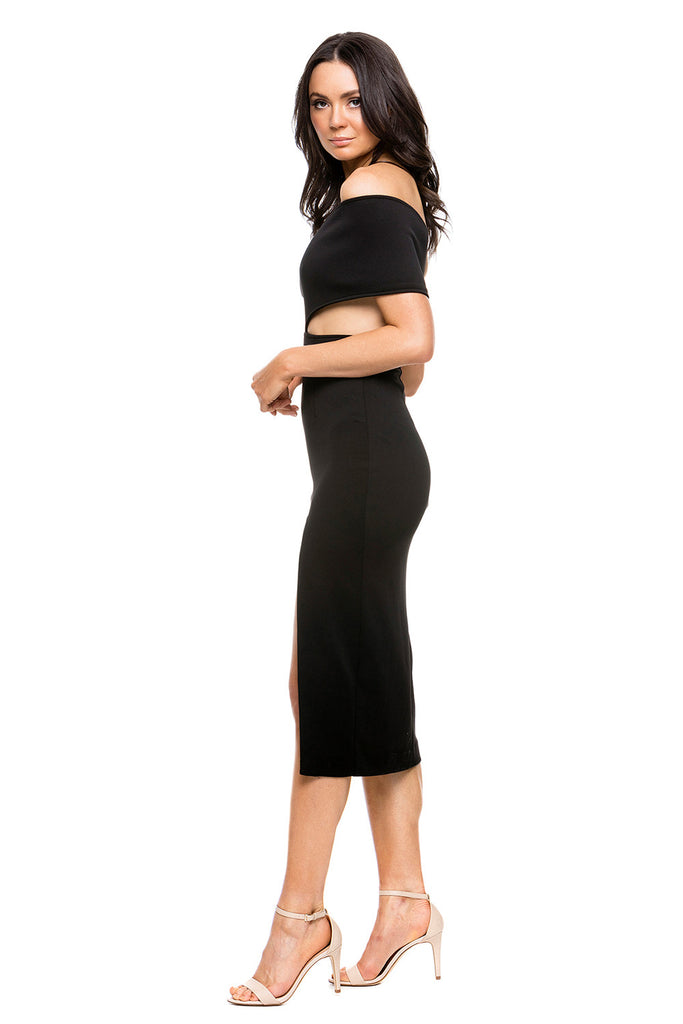 Maurie & Eve Genesis Dress in Black