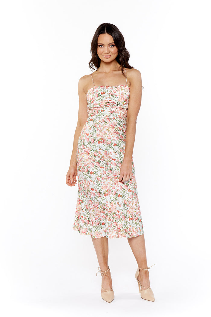 Bec & Bridge Camellia Delights Midi Dress
