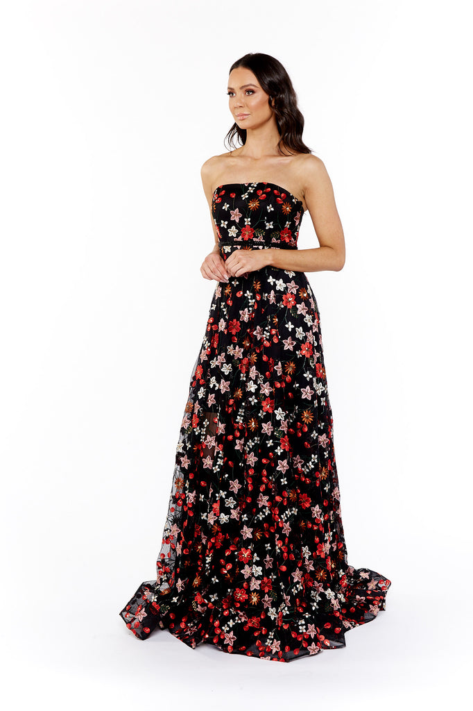 Bronx and Banco Moulin Rouge Corset Gown