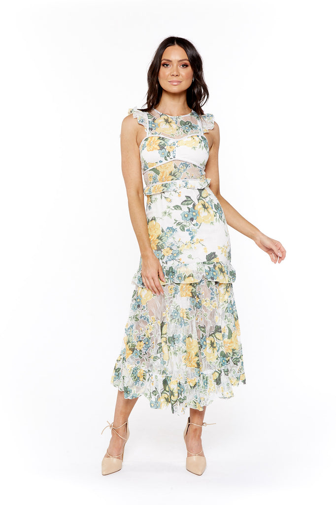 Alice McCall Oh So Lovely Dress In Sunset