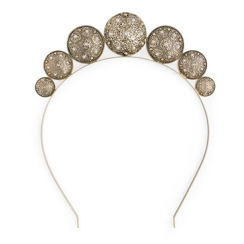 Kitte Jewellery - Zodiac Headpiece in Gold - 4 DAY HIRE
