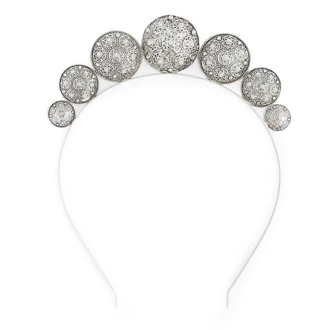 Kitte Jewellery - Zodiac Headpiece in Silver 4 DAY HIRE