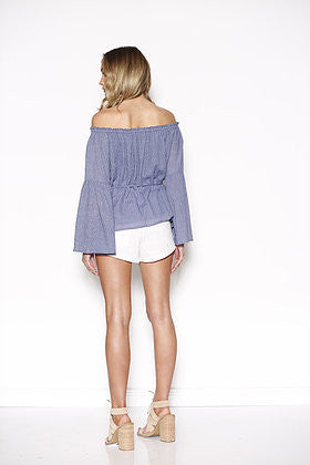 Ministry Of Style Fleeting Off The Shoulder Blouse