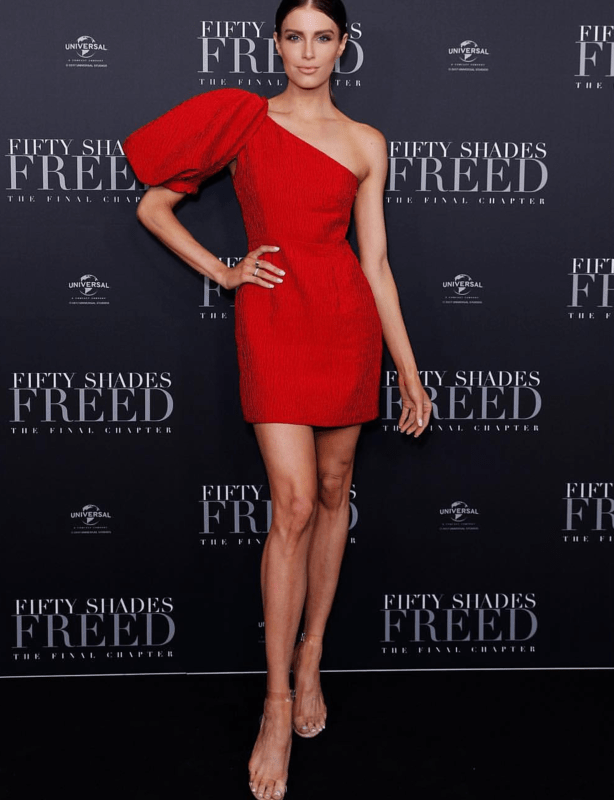Nicola Finetti Eddy Dress in Red