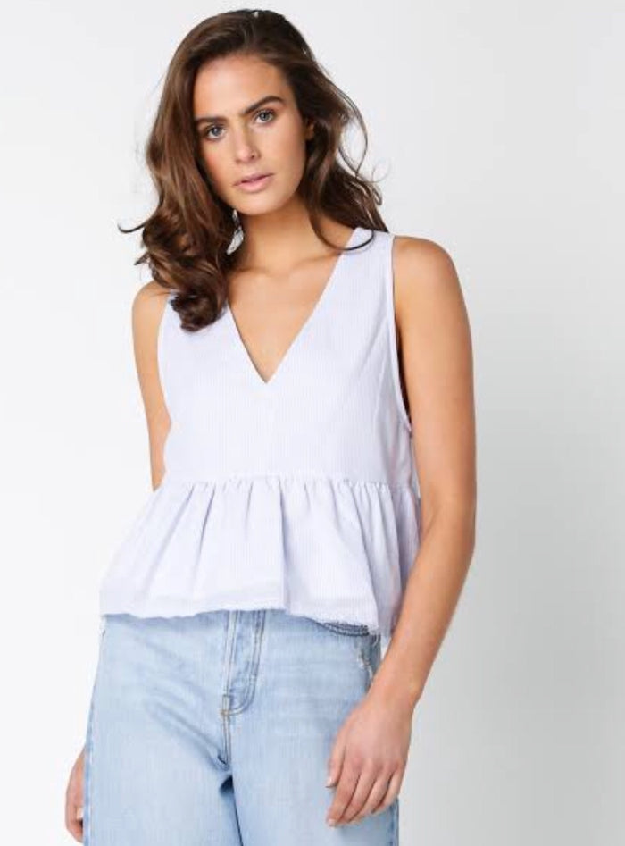 Lulu + Rose Issey stripe top