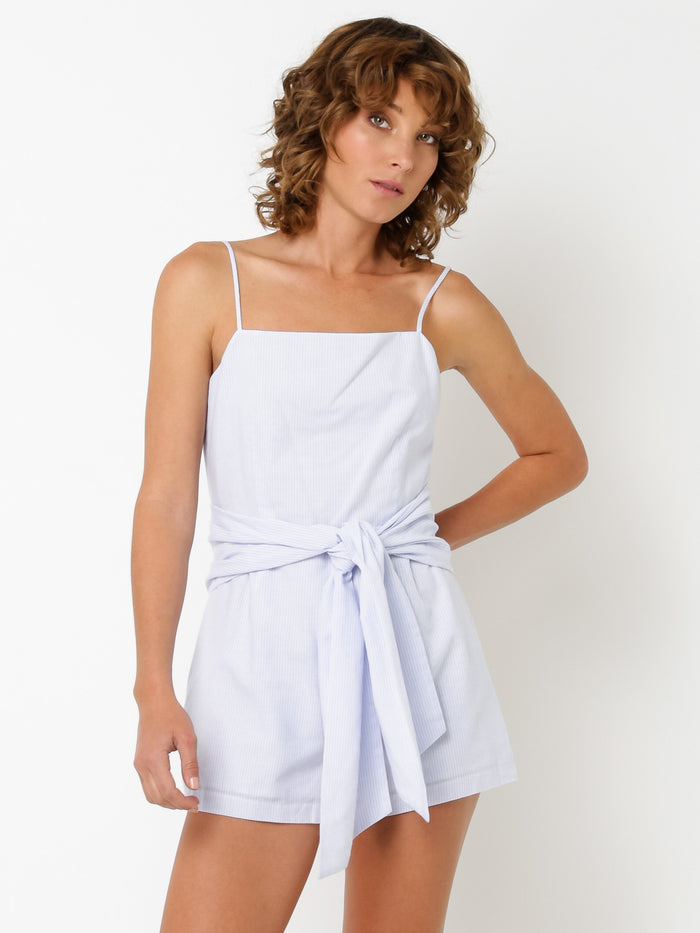 Lulu + Rose Issey Stripe Playsuit