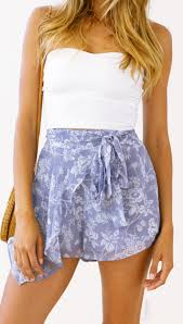 Lulu + Rose Suri Wrap Shorts