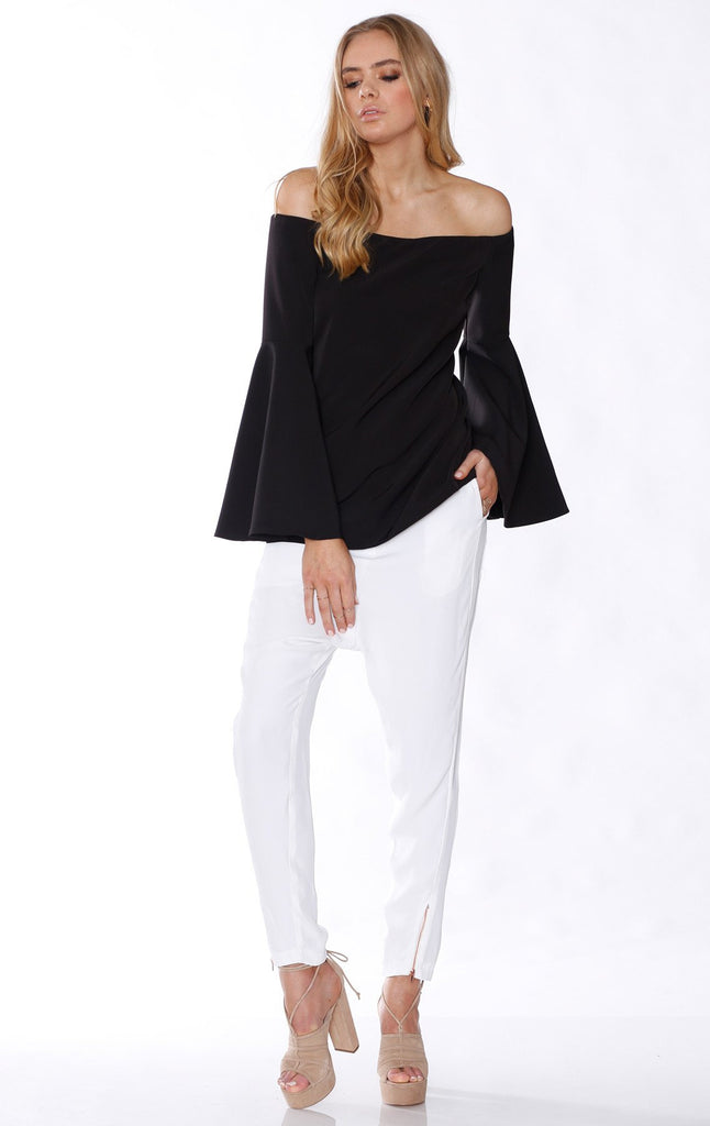 Pasduchas Nicks Top in Black