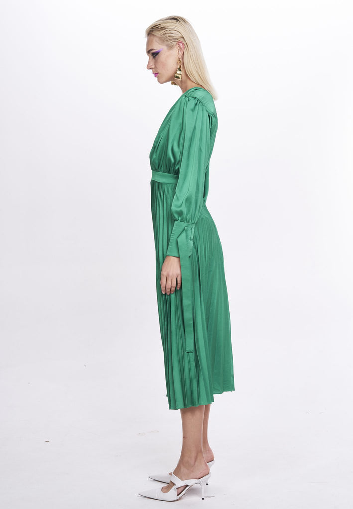 Nicola Finetti Eliana Dress | Emerald