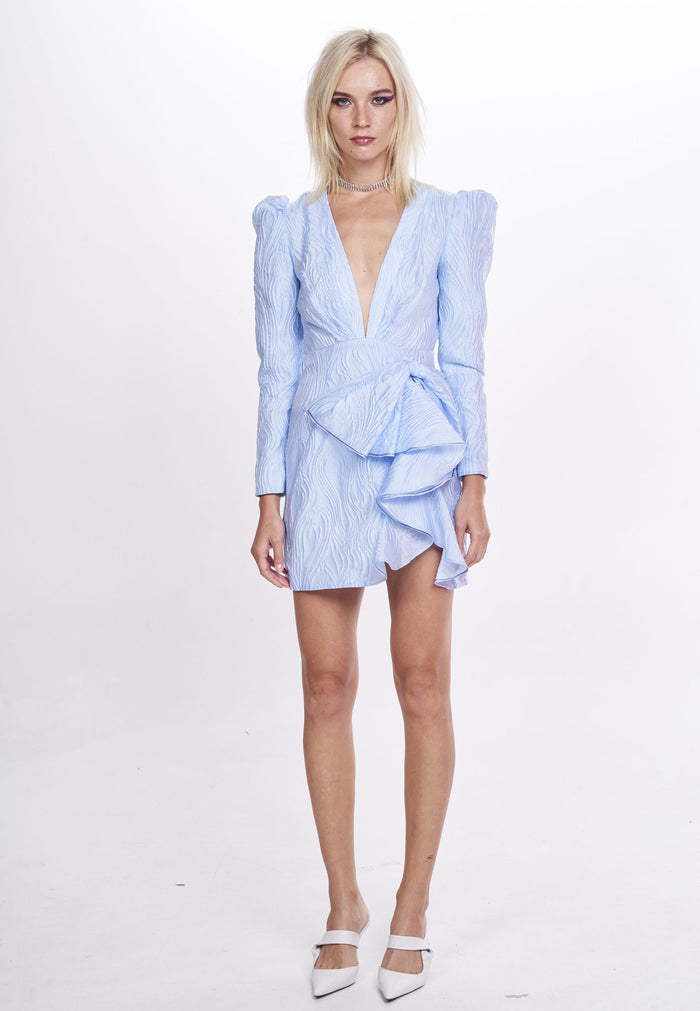 Nicola Finetti Kyle Dress | Pale Blue