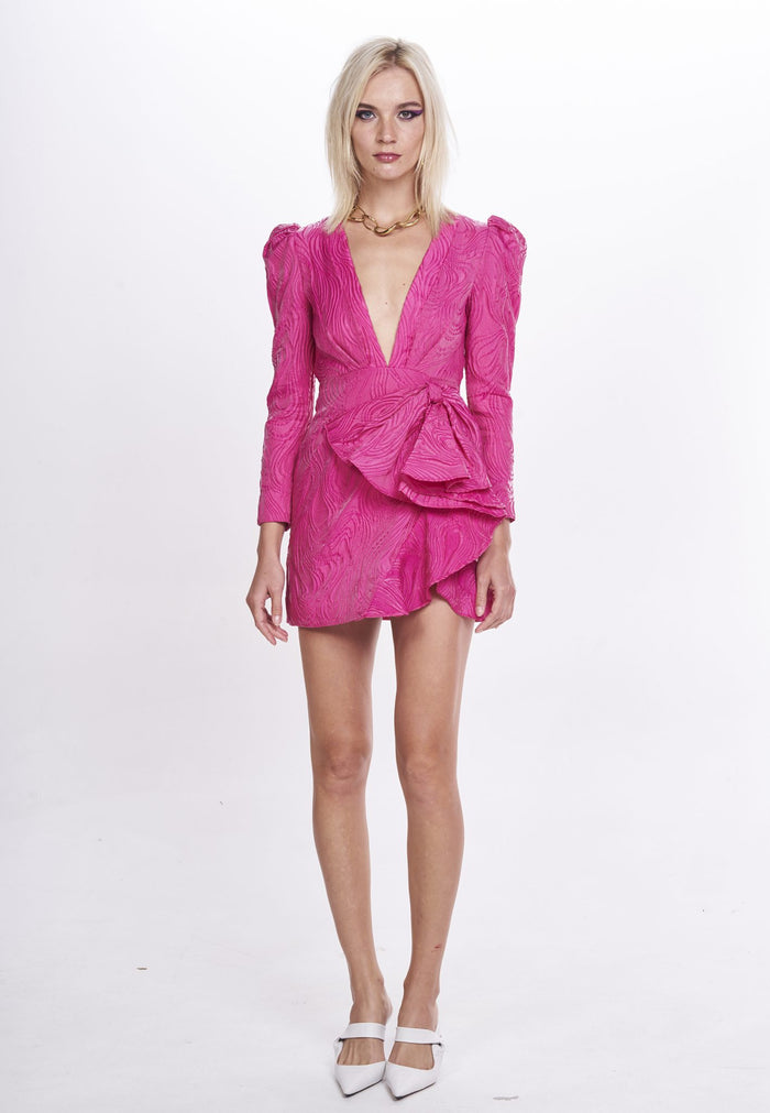 Nicola Finetti Kyle Dress | Fuchsia