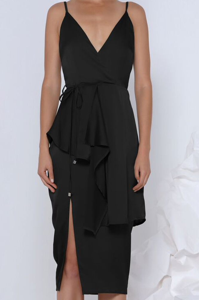 Premonition Designs Pia Cocktail dress in Black