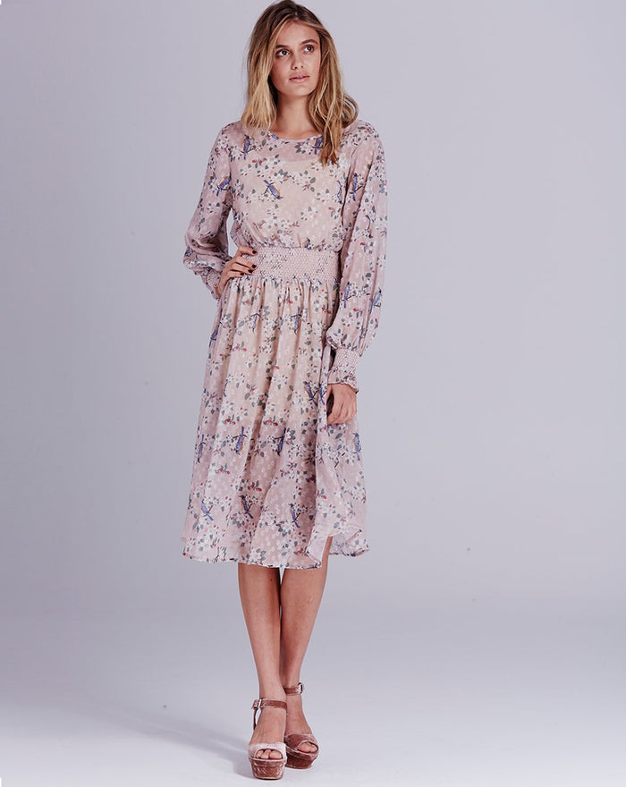 We Are Kindred | Pippa Shirred Mid Dress