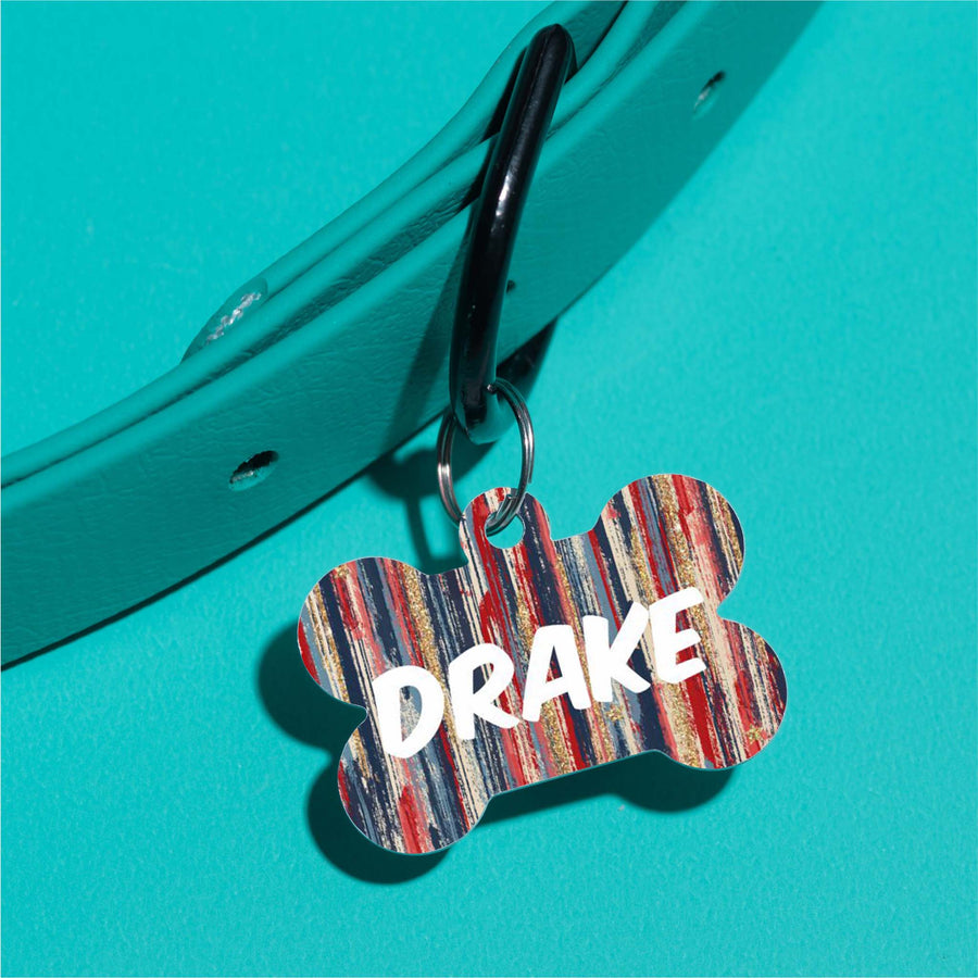 Drake's Flag Pet ID Tag