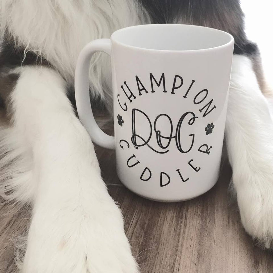 Champion Cuddler Coffee Mug - The Dapper Paw