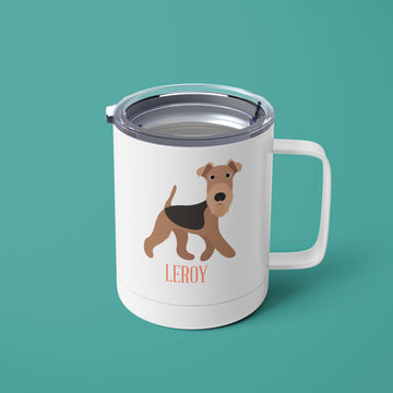 Airedale Tumbler - The Dapper Paw