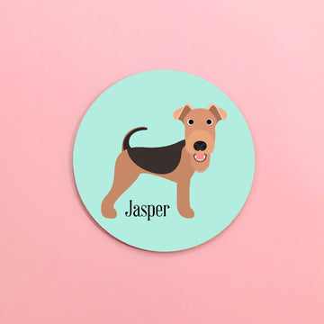 Airedale Mouse Pad - The Dapper Paw