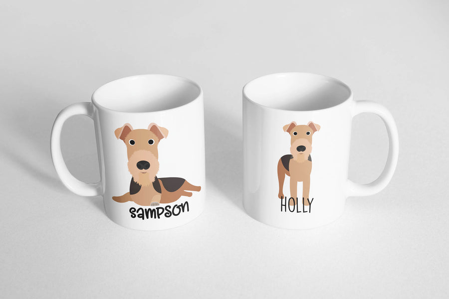 Airedale Mug - The Dapper Paw