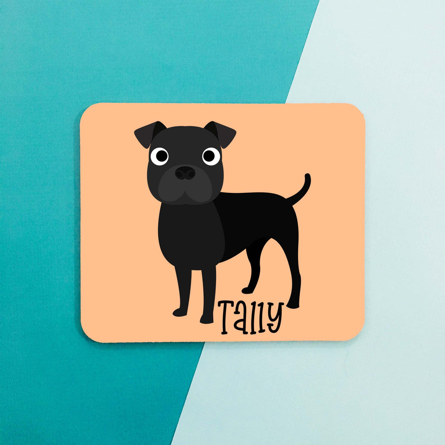 American Staffordshire Terrier Mouse Pad - The Dapper Paw