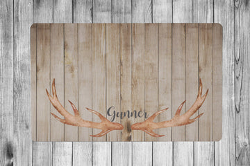Antler 1 Placemat - The Dapper Paw