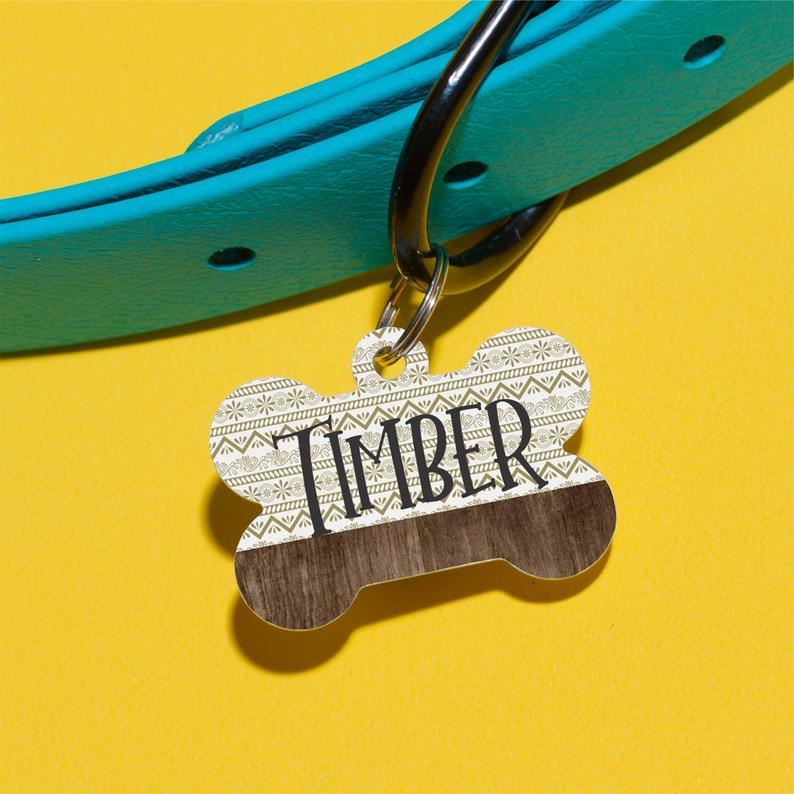Aztec Forever Pet ID Tag - The Dapper Paw