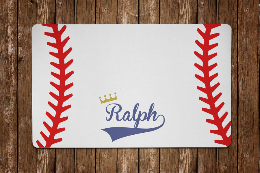 Baseball Placemat - The Dapper Paw