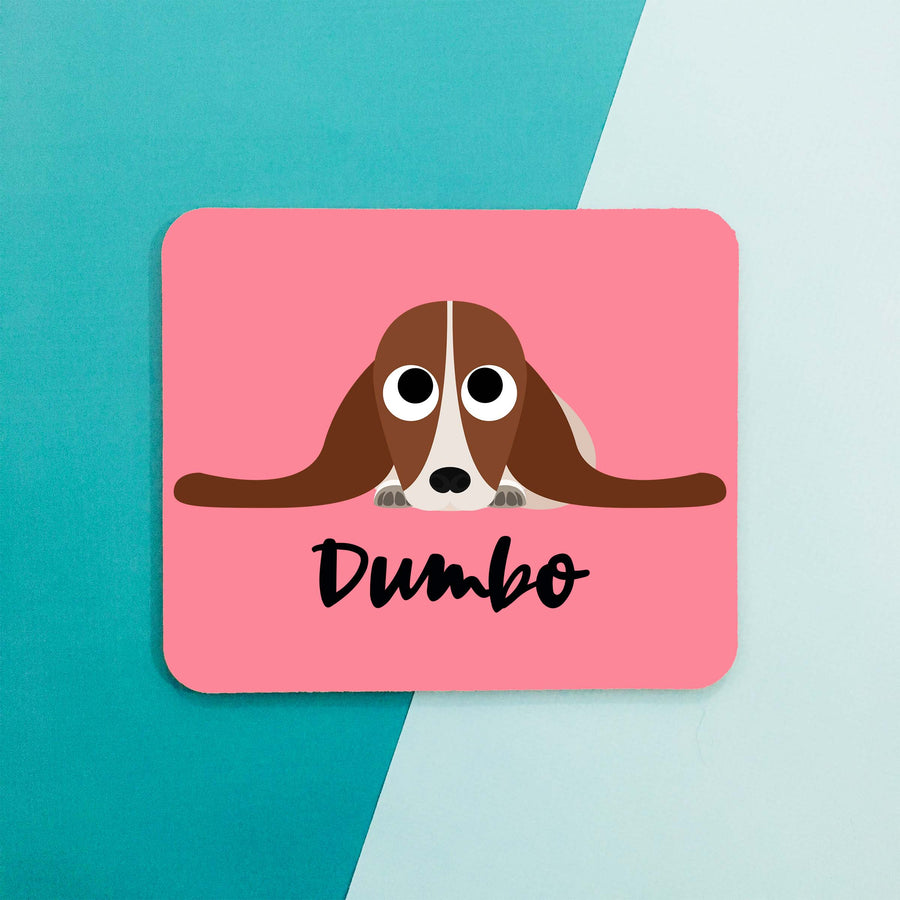 Basset Hound Mouse Pad - The Dapper Paw