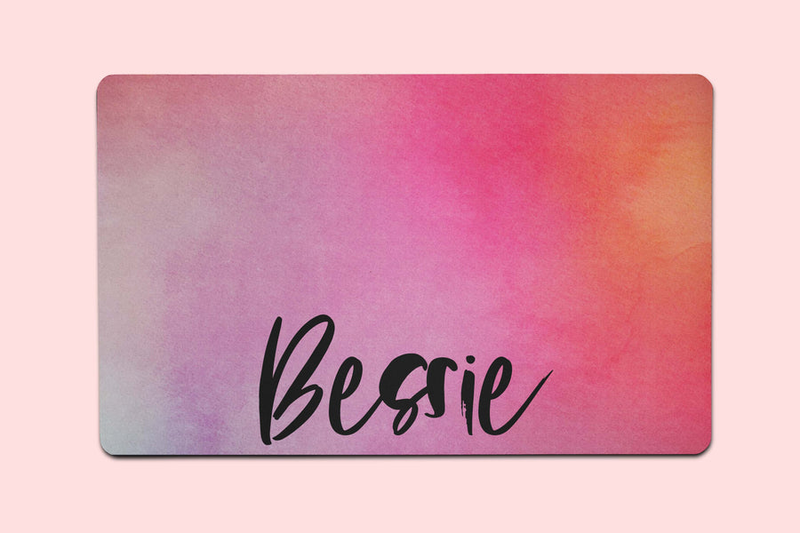 Bessie Watercolor Placemat