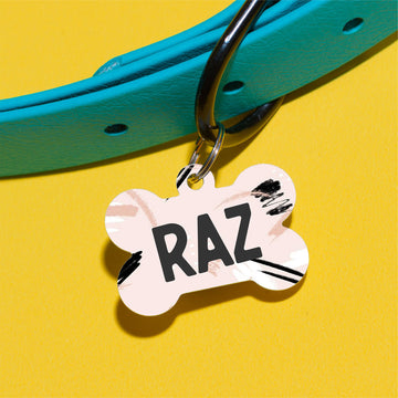 Blush Raz Pet ID Tag - The Dapper Paw