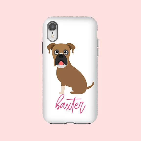 Boxer Phone Case - The Dapper Paw