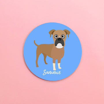 Boxer Mouse Pad - The Dapper Paw