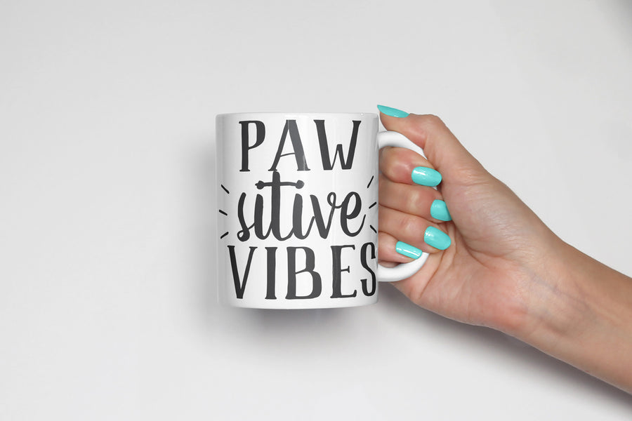 Pawsative Vibes Coffee Mug - The Dapper Paw