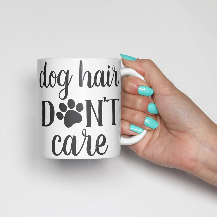 Dog Hair Don't Care Coffee Mug - The Dapper Paw