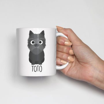 Cairn Terrier Mug - The Dapper Paw