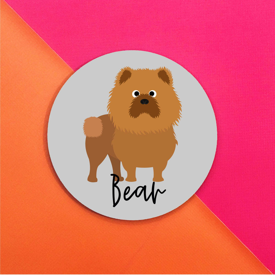 Chow Chow Mouse Pad - The Dapper Paw
