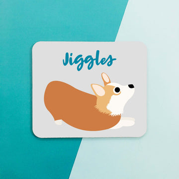 Corgi Mouse Pad - The Dapper Paw