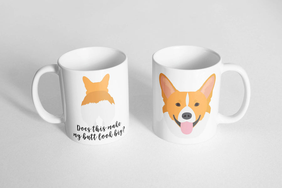 Corgi Mug - The Dapper Paw