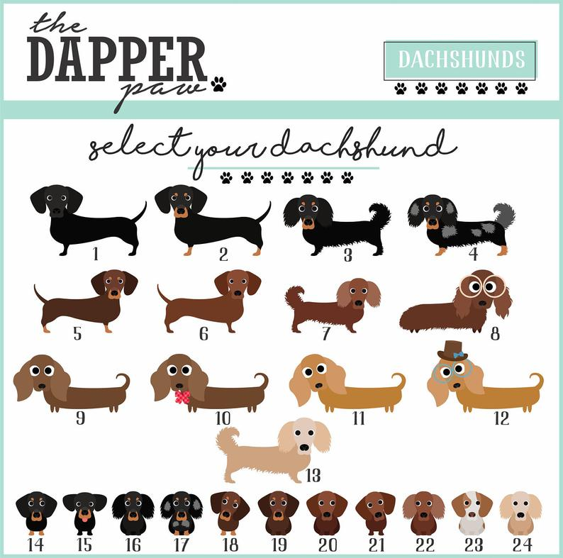 Dachshund Mouse Pad - The Dapper Paw