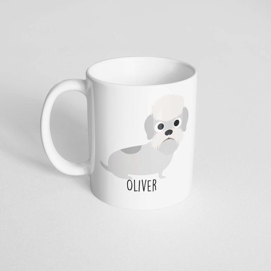 Dandie Dinmont Mug - The Dapper Paw