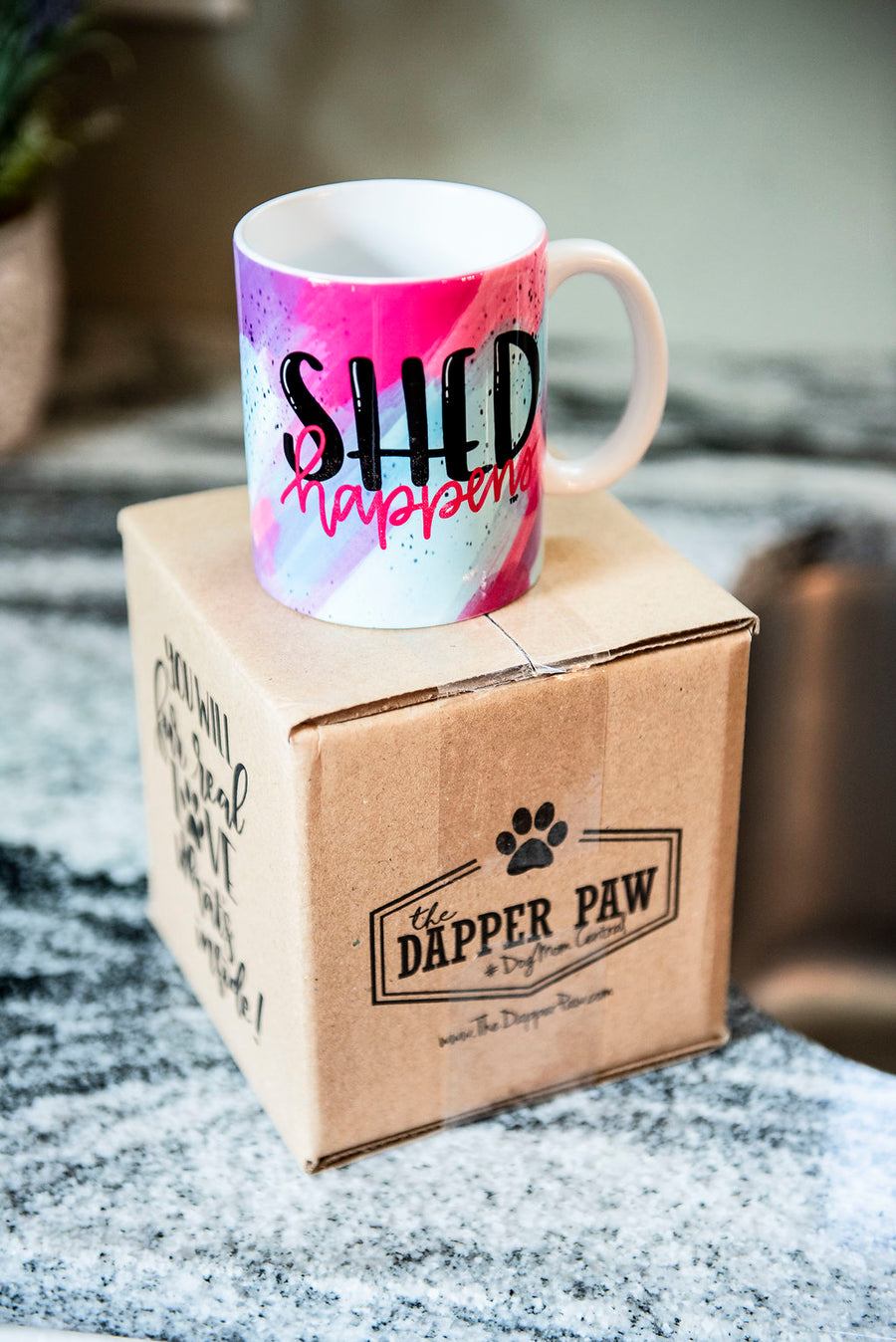 Full Color Shed Happens Coffee Mug - The Dapper Paw