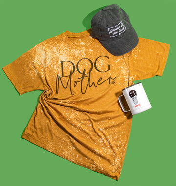 Dog Mother Tee - Bleached - The Dapper Paw