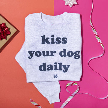 Kiss Your Dog Daily Sweatshirt