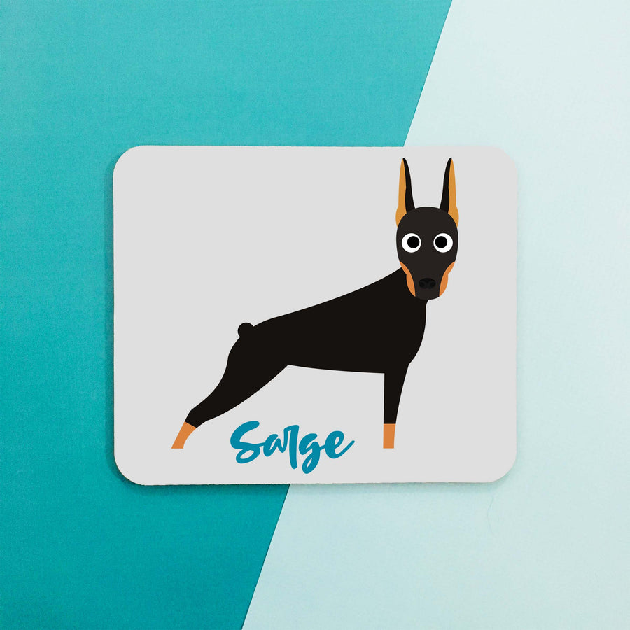 Doberman Mouse Pad - The Dapper Paw