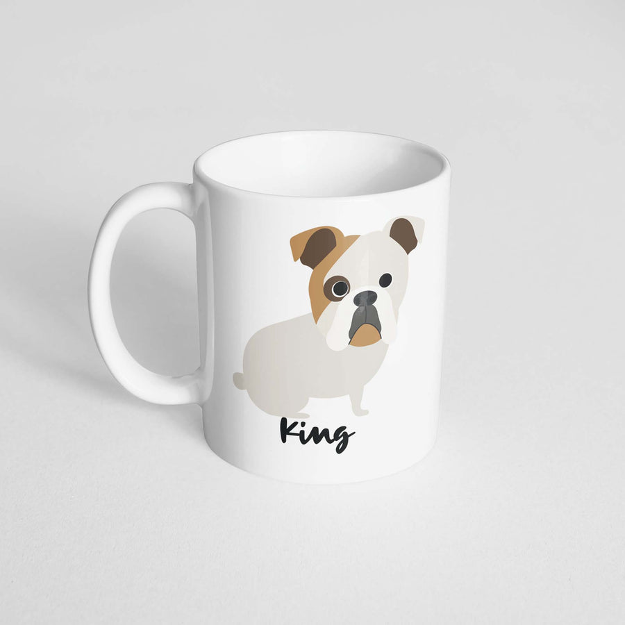 English Bulldog Mug - The Dapper Paw