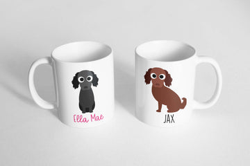 Flat Coat Retriever Mug - The Dapper Paw