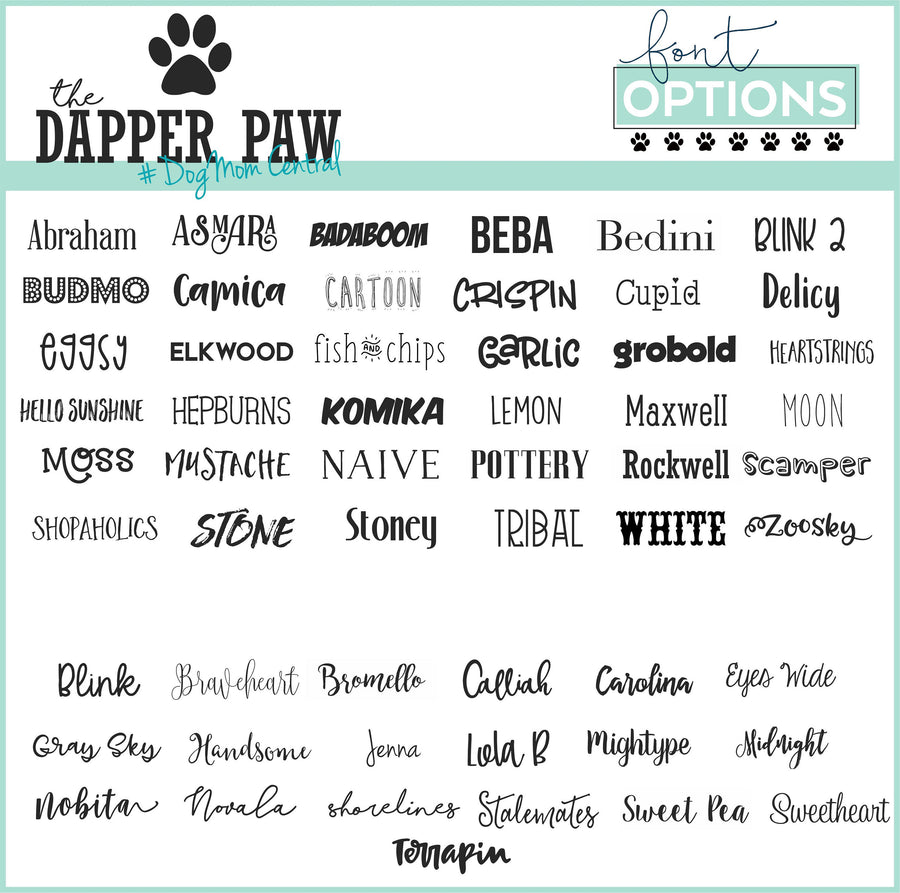 Waterfall Floral Placemat - The Dapper Paw