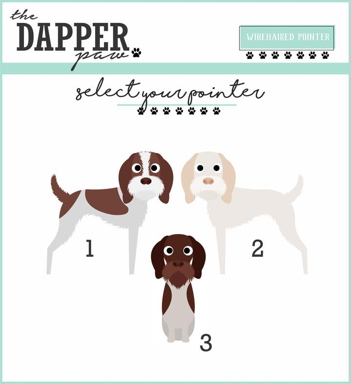 German Wirehaired Pointer (GWP) Mouse Pad - The Dapper Paw