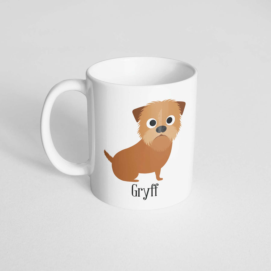 Griffon Bruxellois Mug - The Dapper Paw